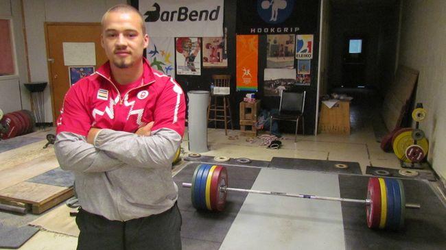 Sarnia weightlifter Boady Santavy (file photo)
