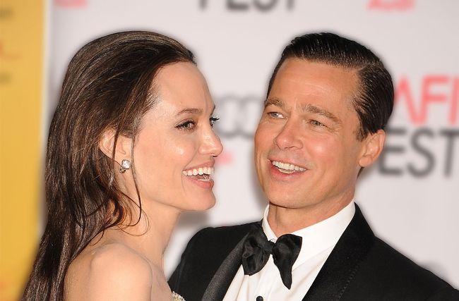 Angelina Jolie and Brad Pitt. (File Photo)