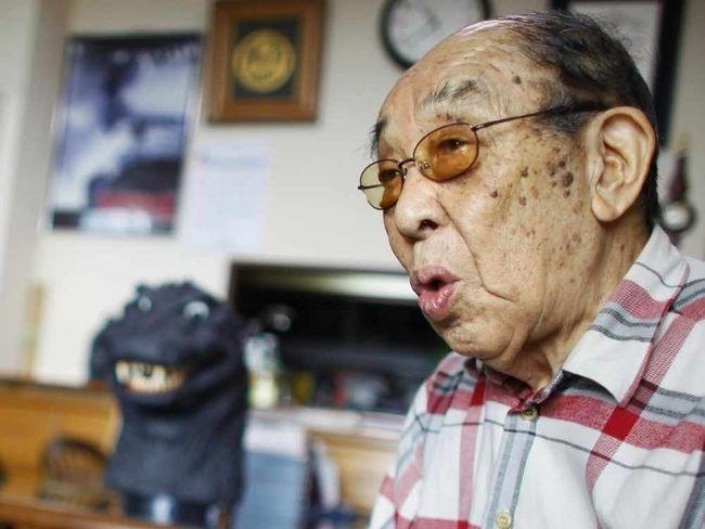 Hauro Nakajima was the original Godzilla. (Associated Press)