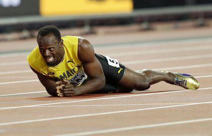 Bolt injured