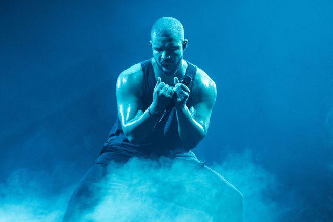 Drake performs at Mercedes-Benz-Arena in Berlin on March 9, 2017. (Ben Kriemann/Future Image/WENN.com/Files)