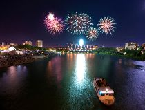 Potash Corp Fireworks Festival in Saskatoon. (Courtesy Sasktoon Tourism)
