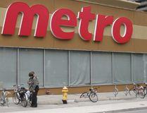 A storefront of Metro. (TORONTO SUN FILES)