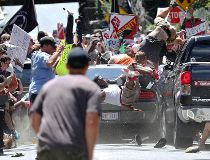 Protest in Charlottesville, Va