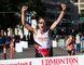 FILE PHOTO - Tom McGrath crossing the Edmonton Marathon finish line in 2015.
