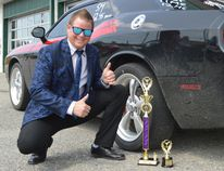 Richard Wilson had a near-perfect drag race weekend in Earlton.