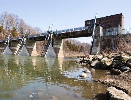 Springbank dam. (File photo)