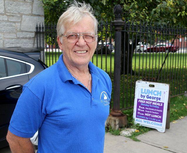 Church custodian helps homeless man