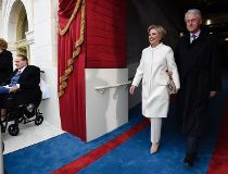Hillary Clinton Trump Inauguration