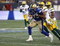 Winnipeg Blue Bombers running back Andrew Harris