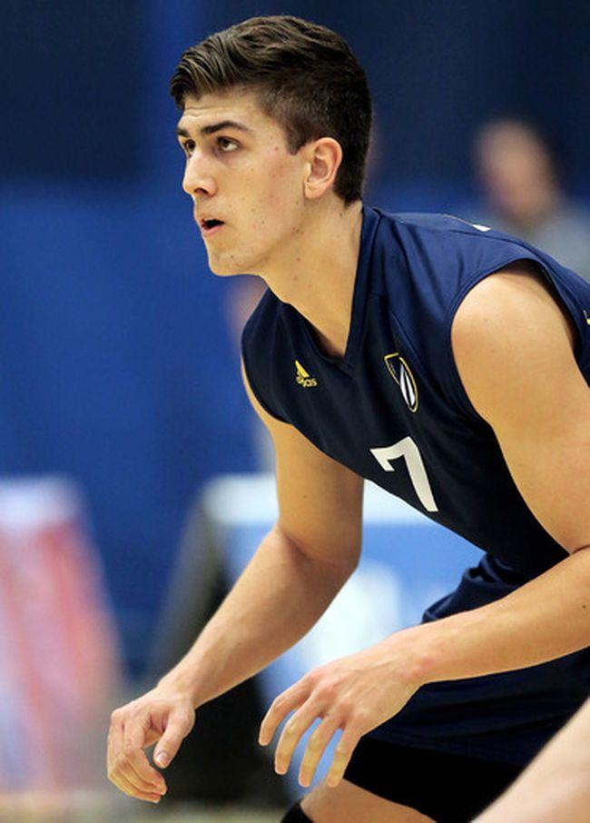 Windsor Lancers volleyball player Pierce Johnson of Chatham. (GERRY MARENTETTE/University of Windsor Athletics)