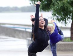 Lockport's Jennifer David is hosting the third annual Yoga Flow at Selkirk's Waterfront Aug. 27. (Brook Jones/Selkirk Journal/Postmedia Network)