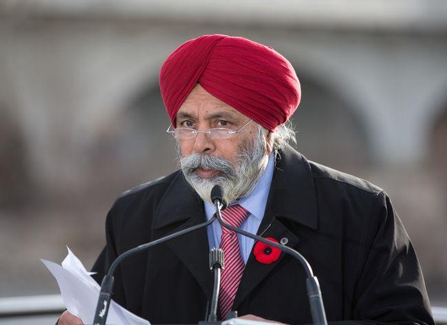 Calgary Skyview MP Darshan Kang.