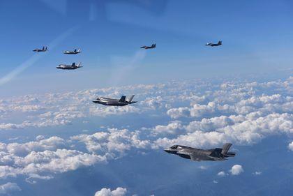 Korea US Fighter Jets