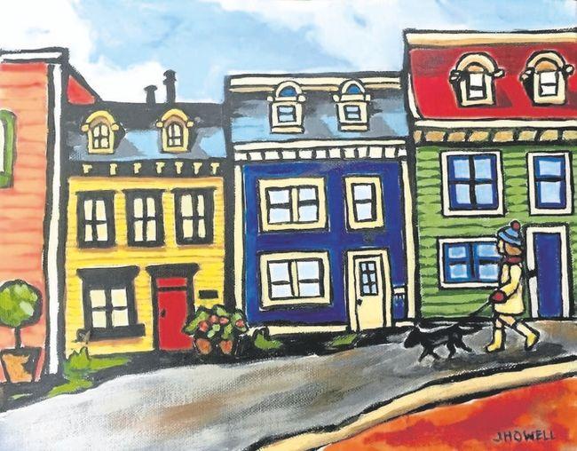 Strolling in St. John's by Janice Howell