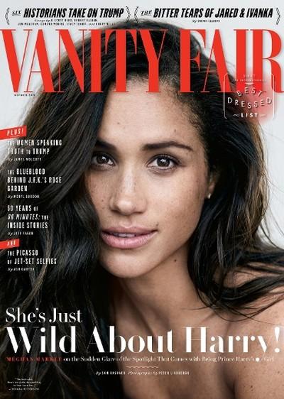 Meghan Markle on cover of Vanity Fair (@VanityFair)
