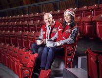 Rogers Hometown Hockey hosts Ron MacLean and Tara Slone (Suppled by Rogers Media)
