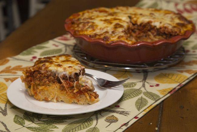 Spaghetti Pie (DEREK RUTTAN, The London Free Press)