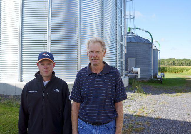 <p>Andrew, left, and Steven Byvelds at the family's farm on Friday September 1, 2017, near Williamsburg, Ont. </p><p> Rachel Faber/Cornwall Standard-Freeholder/Postmedia Network