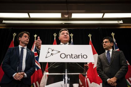 Ontario Pot Plan Press Conference
