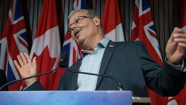 "Ontario Public Service Employees Union president Warren ""Smokey"" Thomas is seen in a 2016 file photo. (CRAIG ROBERTSON/Posemedia Network)"