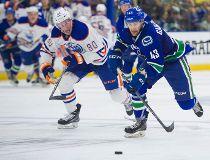 Oilers Canucks rookies