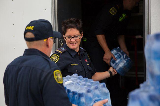 Waterton fire department water