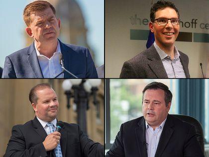 UCP leadership contenders