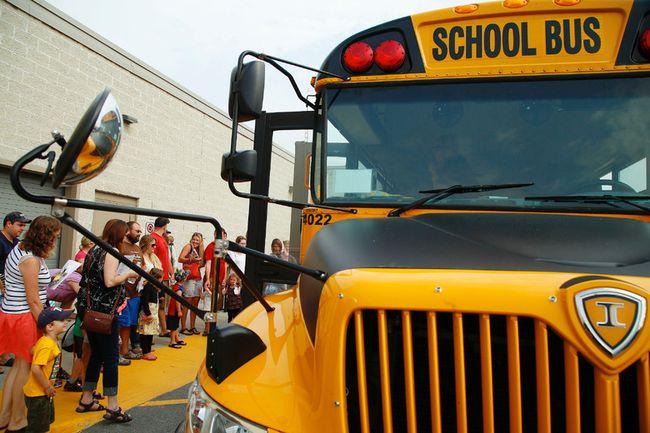Columnist Nadene Grieve-Deslippe's granddaughter started school last week and took her first ride on a school bus. (Postmedia Network)