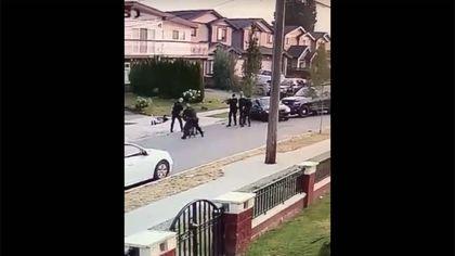 vancouver police takedown