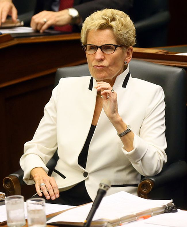 Premier Kathleen Wynne at Queen's Park in Toronto on Tuesday, September 12, 2017. (Dave Abel/Toronto Sun)