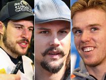 Sidney Crosby, Erik Karlsson, Connor McDavid