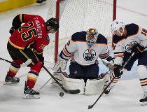 Oilers host Flames preseason