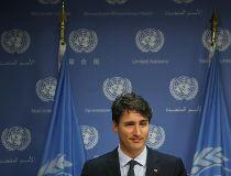 Justin Trudeau at UN