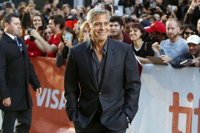 George Clooney attends the Toronto International Film Festival on Sept. 9, 2017. (Regina Wagner/Future Image/WENN.com)