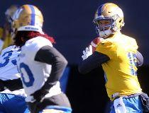Blue Bombers quarterback Matt Nicholls