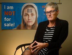 Megan Walker, Executive Director of the London Abused Women's Centre (MORRIS LAMONT, The London Free Press)