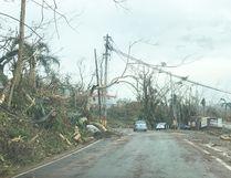 Photo captures the destruction in Puerto Rico following Hurricane Maria.