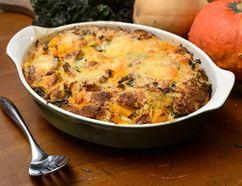 Squash and Kale Bread Pudding (MORRIS LAMONT, The London Free Press)