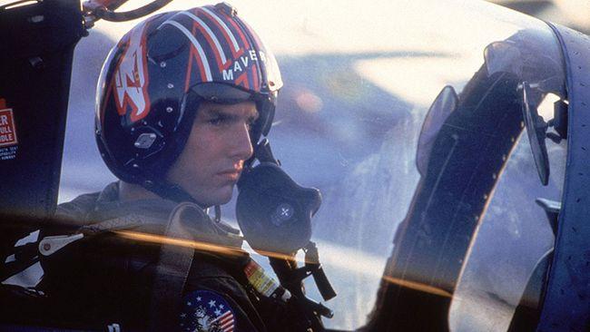 "Tom Cruise in ""Top Gun."" (HO)"