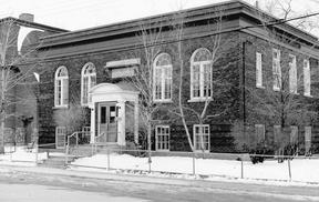 Ottawa Public Library Rosemount branch. File Photo taken in 1918.