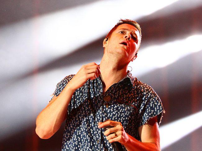 Imagine Dragons lead singer Dan Reynolds
