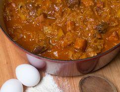 Bigos - Polish Pork and Sauerkraut Stew (Free Press file photo)