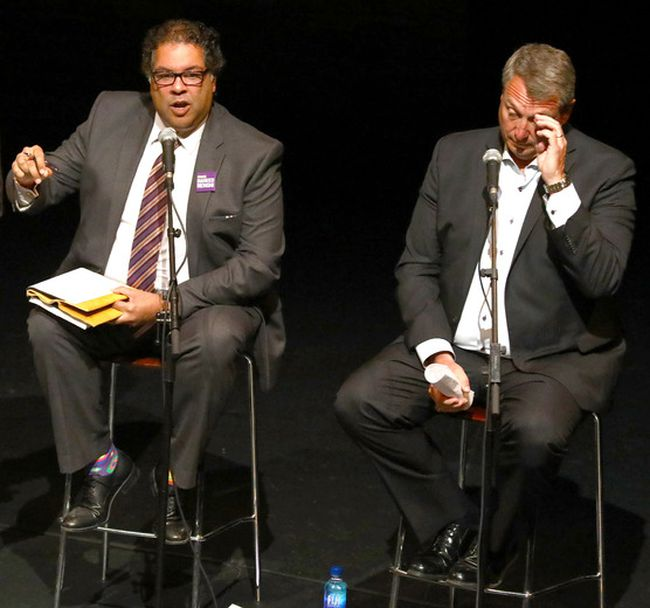 Bill Smith and Naheed Nenshi