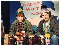 Bob and Doug McKenzie, played by Rick Moranis and Dave Thomas. (Postmedia File Photo)