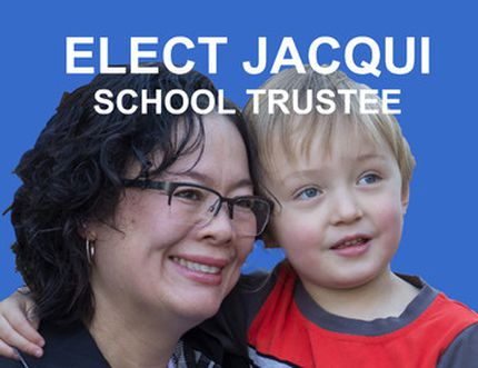 Jacqui Vanderfluit, Ward 1 trustee candidate in the Livingstone Range School Division