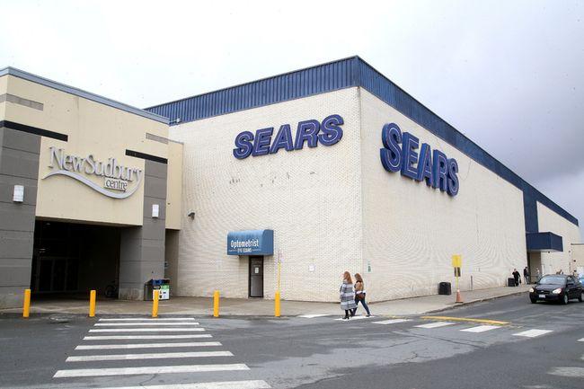 The Sears store in Sudbury will soon close.