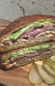 Workshop Cubano sandwich