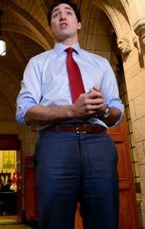 Justin Trudeau Oct. 16/17