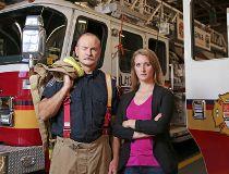 Jennifer Keir and Ottawa Fire Capt. David Matschke